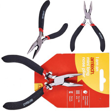 Amtech -B3186 MINI LONG NOSE PLIER Spring Multi-Function Home Tool Drop Forged