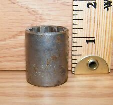 """Genuine JCPenney (3096) 13/16"""" 12 Point 1/2"""" Drive Socket Only **U.S.A.**"""