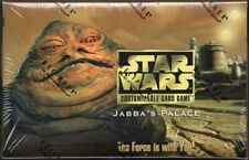 JABBA'S PALACE STAR WARS BOOSTER BOX X1 LIMITED EDITION FACTORY SEALED DECIPHER