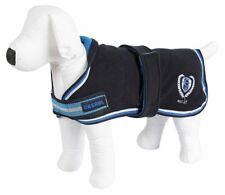 "Kerbl 'RugBe' Fleece Dog Coat, Navy/Blue, XLARGE (50cm, ~ 20"")"