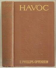 HAVOC by E. PHILLIPS OPPENHEIM Hardcover 1911