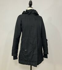 Women's LOLE Size XS Black Long Winter Jacket Parka