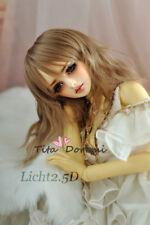 Bjd Perruque 1/3 8-9 DD DAL PULLIP DZ AOD SD Luts Dollfie Doll Toy Head Beauty
