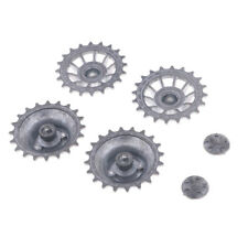 Silver Driving Wheels for 1/16 Scale Henglong 3818-1 German Tiger Tank Toys