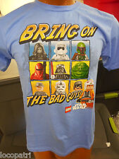 Mens Star Wars Brand Legos Bring On The Bad Guys Shirt New M