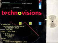 TECHNOVISIONS hardfloor/graphite/top buzz/ongaku/clementine/syzygy/etc DOUBLE LP