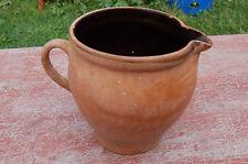 Pot en terre cuite vernissée - cache pot - décoration jardin-