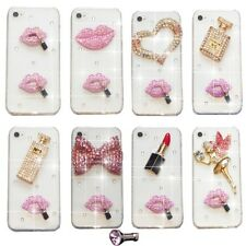 BLING HANDBAG PERFUME LIPSTICK DIAMOND CASE COVER 4 SAMSUNG iPHONE SONY HTC