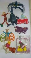 McDonalds Happy Meal Toys lot of 8, inc Monsters v Alien, Dragons & Bionicle