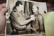 Personal Photos of Korea War Hero Neal Chavis 45th infantry General Ruffner