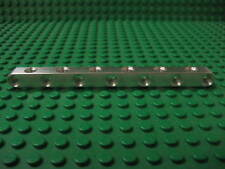 13 unit long aluminum beam with holes on all sides. Works with Lego Technic