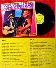 LP Don Williams & Willie Nelson
