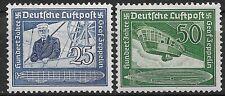 Germany Third Reich Mi# 669 - 670 MH Air Mail 1938 *