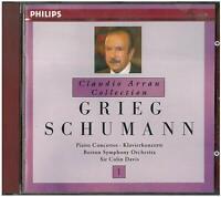 Grieg, Schumann: Concerto Pour Piano / Claudio Arrau, Colin Davis - CD