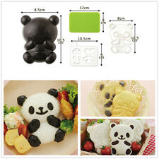 Panda Rice Sushi Mold Bento Maker Sandwich Cutter Seaweed Nori Tools Kitchen