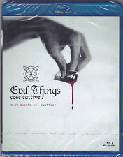 Blu-ray **COSE CATTIVE ♦ EVIL THINGS** nuovo 2012