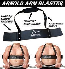 WEIGHT LIFTING BODYBUILDING TRAINING BICEP ARM BLASTER EZ BAR CURL ARMS NEW