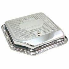 Spectre 5450 Transmission Pan Steel Chrome Finned Stock Capacity GM TH-350