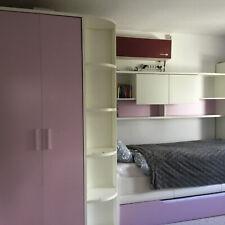 Super tolles Kinderzimmer mit begehbarem Kleiderschrank und Ausziehbett