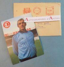 Paul VAN HIMST 1984 Football meilleur joueur belge XXè Photo dédicacée Belgique