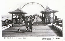Lancashire Postcard - On The Pier at Lytham c1929 - Pamlin Prints - Ref.U62