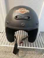 vintage Harley Davidson Motorcycle Helmet
