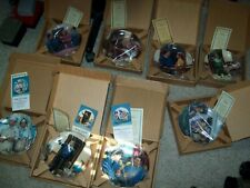 8 Hamilton Collection The Honeymooners Plates Coa & Boxes