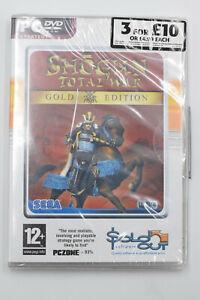 Total War Shogun Gold Edition Game (PC-DVD) BRAND NEW SEALED