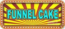 "Funnel Cake Decal 18"" Concession Food Truck Restaurant Vinyl Menu Stickers"