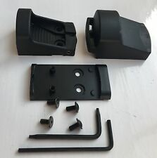 SHIELD MINI SIGHT SMS 65 MOA RING RED DOT & GLOCK MOS SLIDE PISTOL MOUNTING KIT