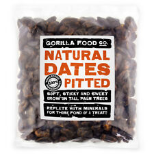 Gorilla Food Co. Natural Pitted Whole Dates - 200g - 3.2kg