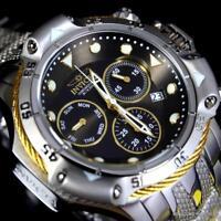 Invicta Subaqua Poseidon Bolt Chronograph Stainless Steel Black 50mm Watch New