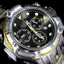 Invicta Subaqua Poseidon Bolt Chronograph Stainless Steel Black 50mm Watch New