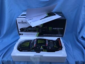 1:18 Authentic Collectables Ford Mustang GT 2019 Cam Waters Monster Energy