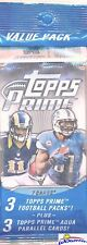 2013 Topps Prime Football EXCLUSIVE Sealed Jumbo Value Pack-AQUA PARALLELS
