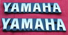 XS1100 Yamaha Chrome OEM Fuel Tank Badges-Emblems-XS750_XS850_XS1100