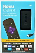 Roku Express HD 3930RW Streaming Media Streamer - Black Brand New