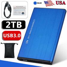 Portable 2Tb Usb 3.0 External Hard Drive Disks 2.5' Hdd For Pc Laptop Desktop
