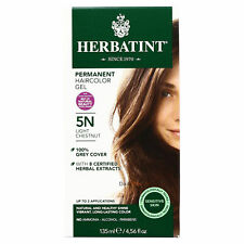 Herbatint Permanent Hair Color, 5N Light Chestnut, Clearance for damaged box