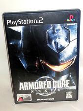 ARMORED CORE NEXUS GIOCO USATO OTTIMO SONY PS2 ED GIAPPONESE NTSC/J VBC 53634