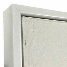 """White Floater Picture Frame 1 3/8"""" Deep, for 3/4"""" Canvas"""