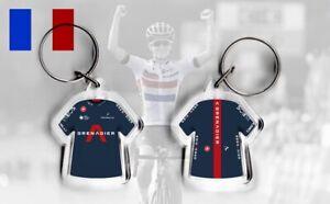TEAM INEOS / SKY t-shirt / jersey keyring cycling, Tour de France 2020 grenadier