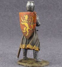 Medieval Knight Statue 54mm Painted Toy Soldiers 1/32 scale Figurine Metal