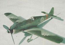 1/6 Scale Focke Wulf FW 190 D-9  Plans, Templates & Instructions