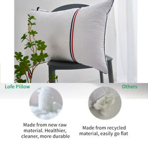 Hotel Collection Pillows for 2 Packs Luxury Breathable Cotton Cover StandardSize