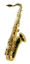 NEW BRASS TENOR SAXOPHONE SAX W/case Approved+ Warranty.