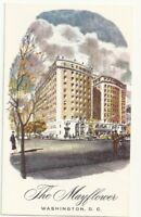 Postcard The Mayflower Hotel Washington DC Vintage