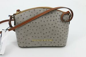 Dooney & Bourke Ruby Crossbody Bag Grey Tan OT0367