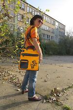 Minnie Mouse Tasche Handtasche gelb blau 60er True VINTAGE 70er bag handbag