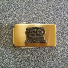 Ford/UAW Apprentice Program 50th Anniversary Pocket Knife/Money Clip from 1991
